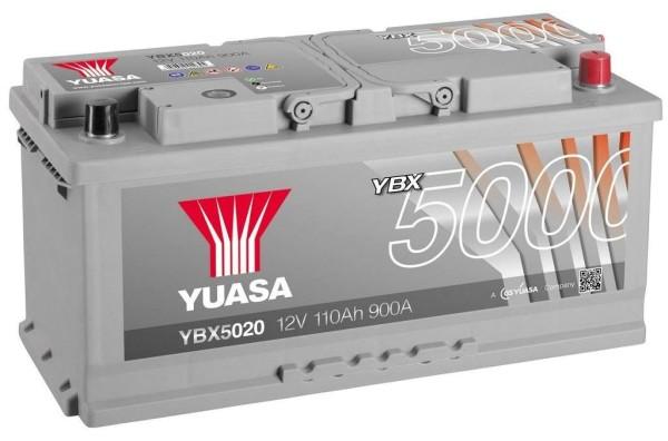 Yuasa YBX5020 Silver 110Ah Autobatterie