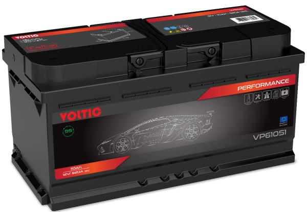 Voltic VP61051 Perfomance 110Ah Autobatterie 610 402 092