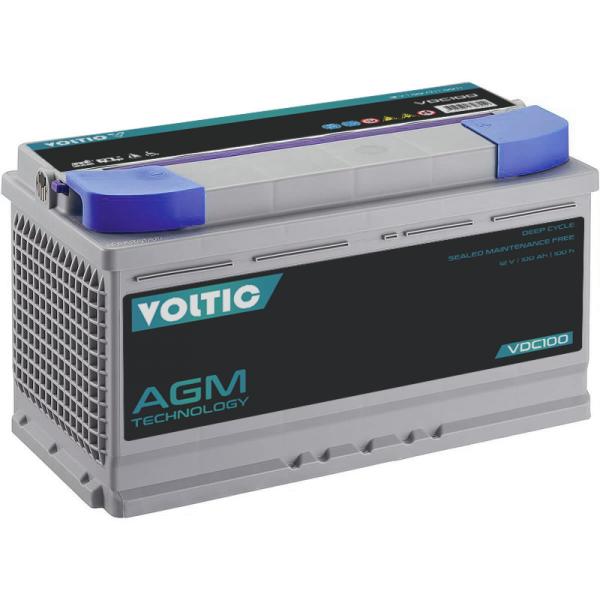 VOLTIC VDC100 Deep Cycle AGM 100Ah Batterie