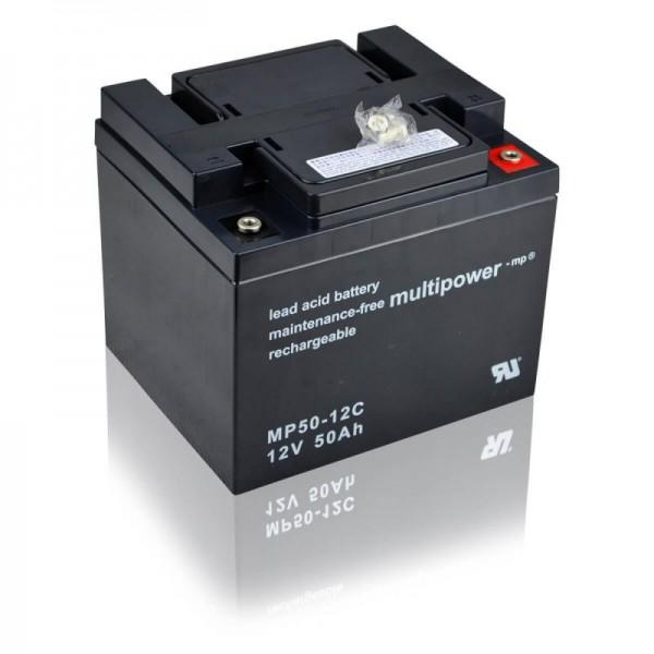 Multipower-MP50-12C-50Ah-AGM-Batterie