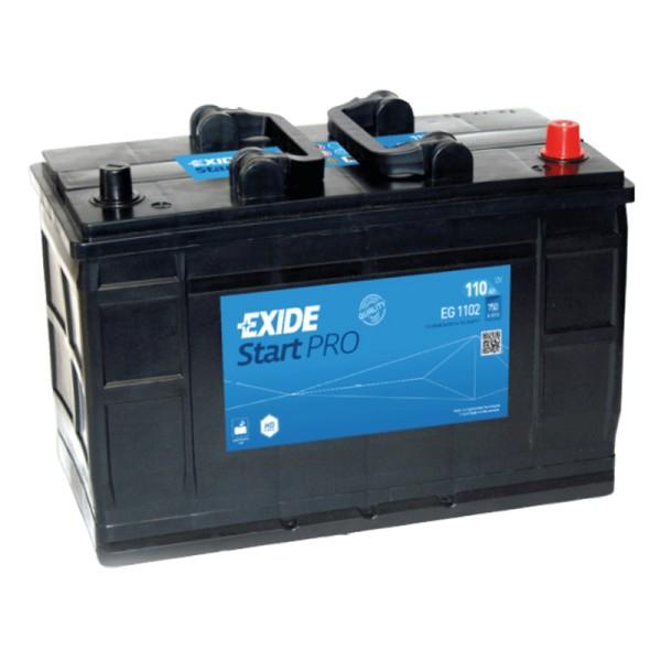 Exide EG1102 StartPRO 110Ah LKW-Batterie