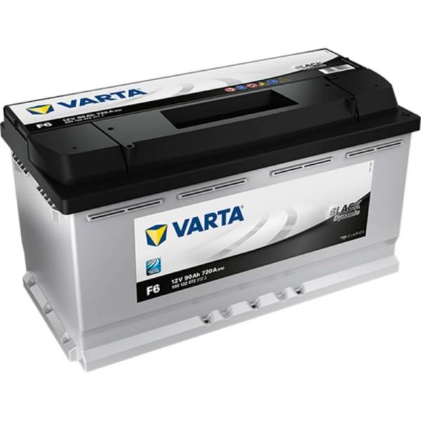 Varta F6 Black Dynamic 590 122 072 Autobatterie 90Ah