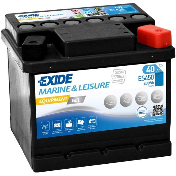 Exide-ES450-Equipment-Gel-40Ah-Batterie-Gel-G40