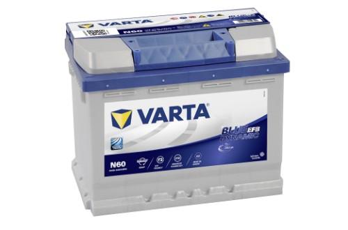 Varta N60 Blue Dynamic EFB 560500064 Autobatterie 60Ah