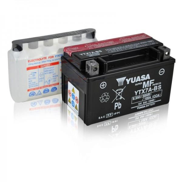 Yuasa-YTX7A-BS-AGM-6Ah-Motorradbatterie-DIN-50615