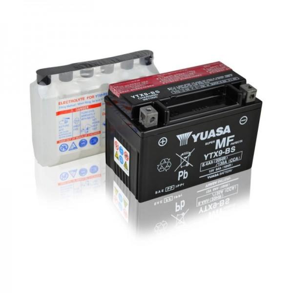 Yuasa-YTX9-BS-AGM-8Ah-Motorradbatterie-DIN-50812