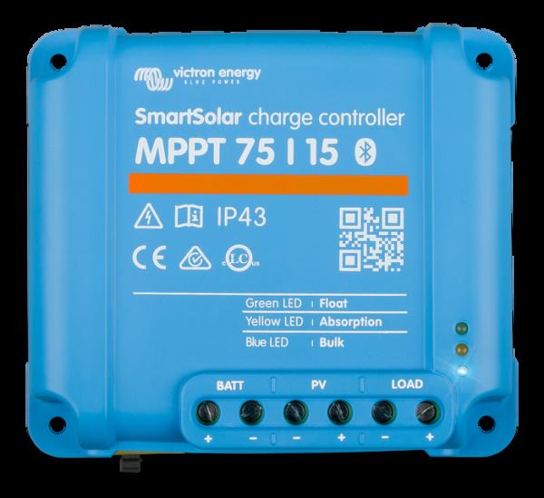 Victron SmartSolar 75/15 MPPT Solar-Laderegler 12V/24V Batterie