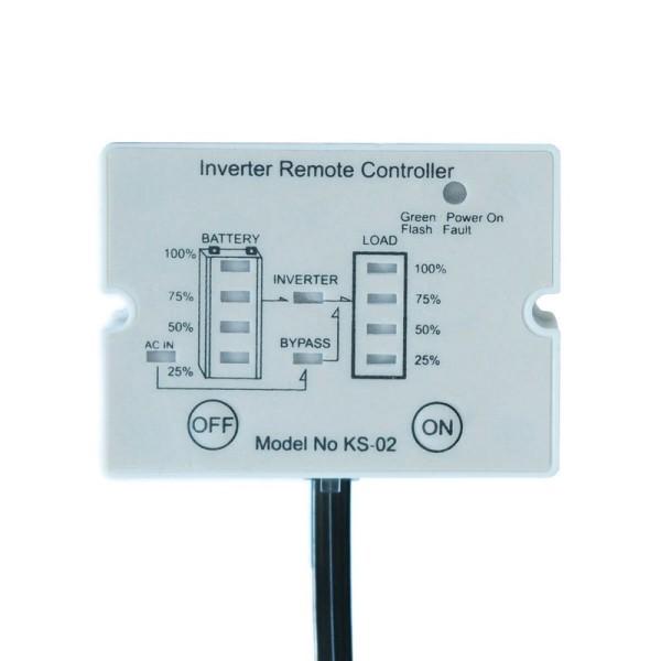 ECTIVE K02 Fernbedienung mit Ladestandsanzeige für Wechselrichter