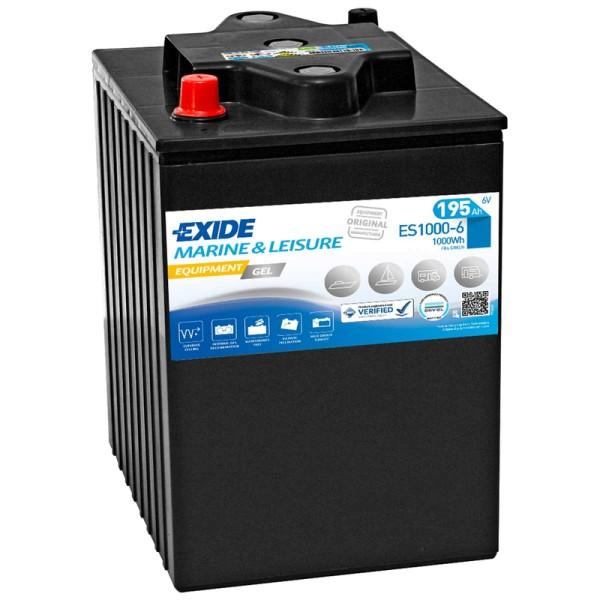 Exide-ES1000-6-Equipment-Gel-195Ah-6V-Batterie-Gel-G180/6