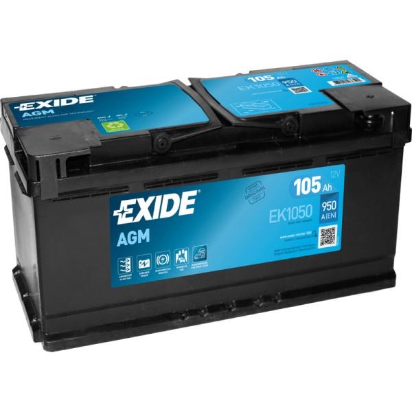 Exide EK1050 AGM 105Ah Autobatterie 605 901 095