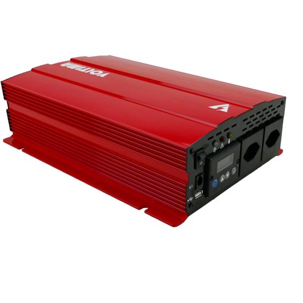 VOLTIMA VST102 Sinus-Inverter 1000W/12V Sinus-Wechselrichter mit NVS und USV (CH)
