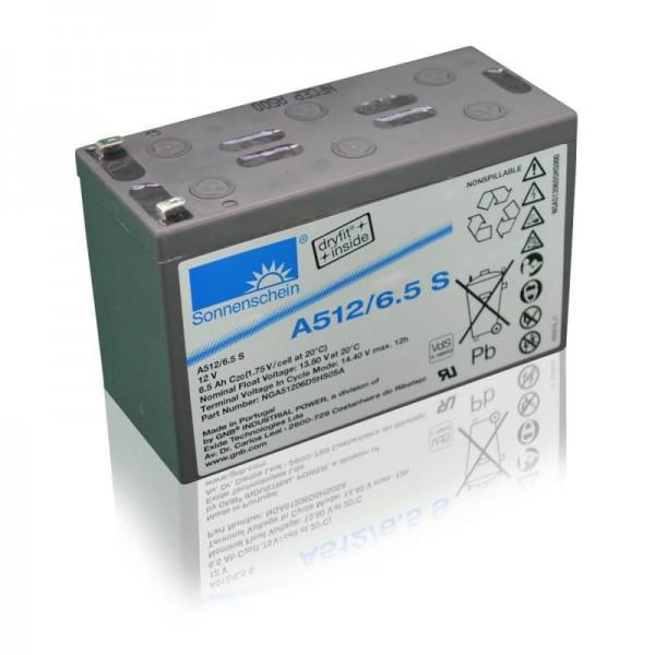 Sonnenschein-GEL-A512-6,5-S-6,5Ah-12V-Batterie