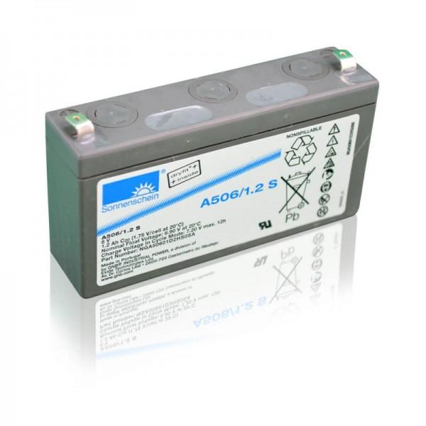 Sonnenschein-GEL-A506-1,2-S-1,2Ah-6V-Batterie