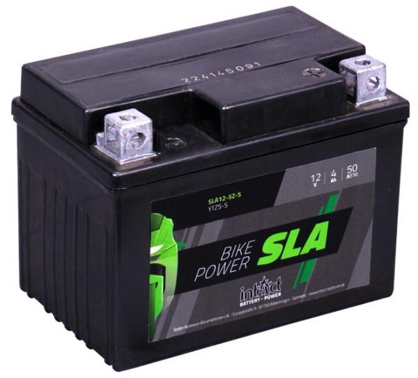 Intact SLA12-5Z-S Bike-Power GEL 4Ah Motorradbatterie (DIN 50314) YTZ5S, YTX4L-BS