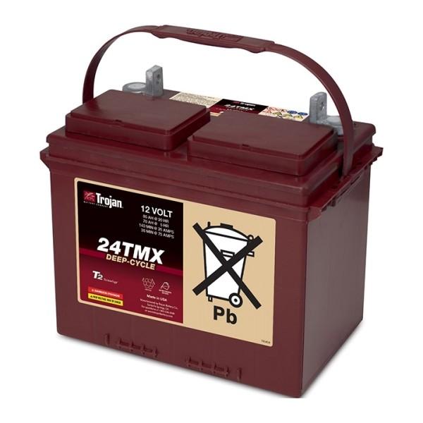 Trojan 24TMX Deep Cycle 12V Traktionsbatterie 85Ah