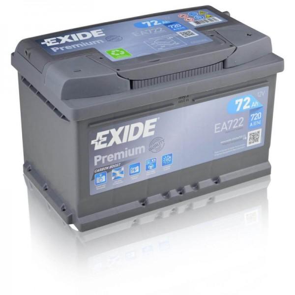 Exide-EA722- Premium-Carbon-Boost-72Ah-Autobatterie