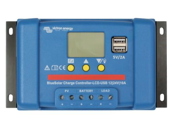 Victron BlueSolar 10A PWM Solar-Laderegler 12V/24V Batterie