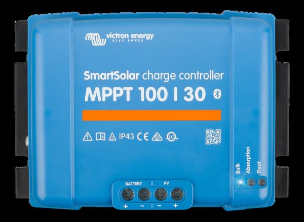 Victron SmartSolar 100/30 MPPT Solar-Laderegler 12V/24V Batterie