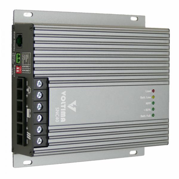 VOLTIMA SCN40 MPPT Solar-Laderegler 12V/24V 480Wp/960Wp 50V 40A