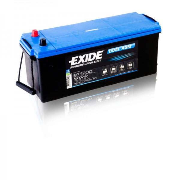 Exide-EP1200-Dual-AGM-140Ah-Batterie