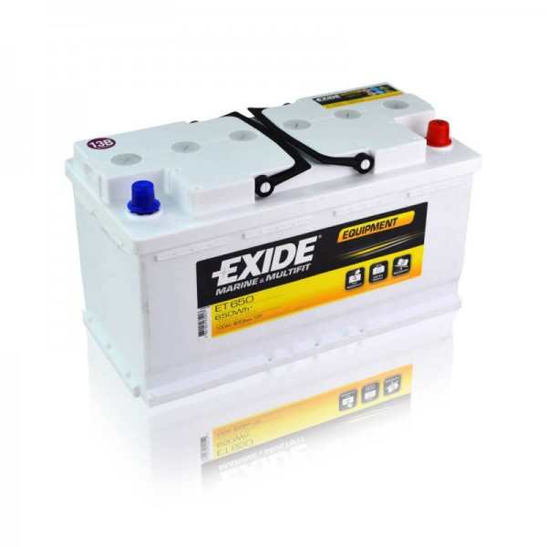 exide et650 equipment semi traction 100ah batterie. Black Bedroom Furniture Sets. Home Design Ideas
