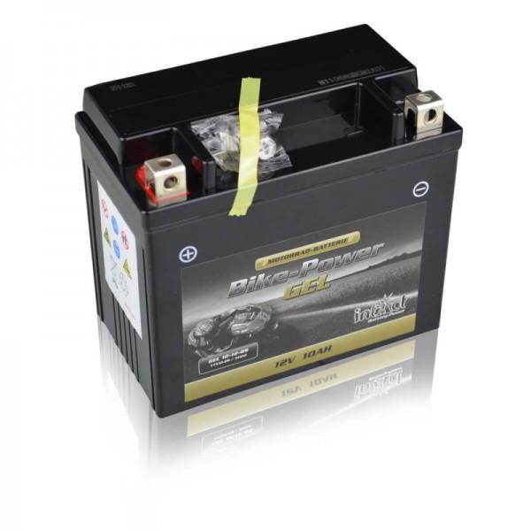 intact gel12 12 bs bike power gel 10ah motorradbatterie. Black Bedroom Furniture Sets. Home Design Ideas