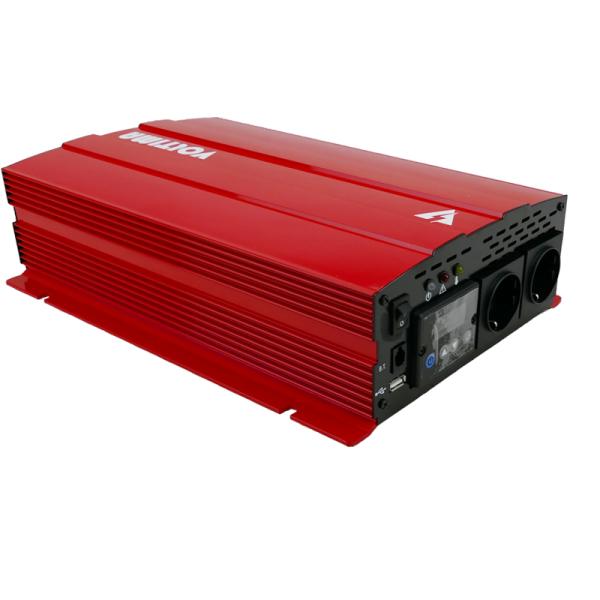 VOLTIMA VST102 Sinus-Inverter 1000W/12V Sinus-Wechselrichter mit NVS und USV