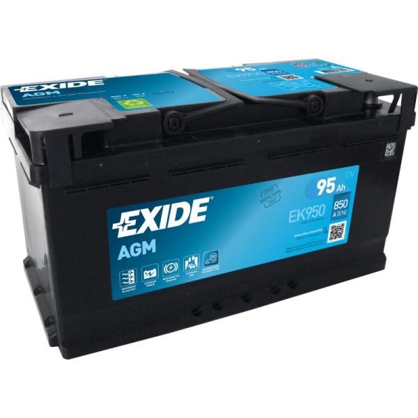 Exide EK950 AGM 95Ah Autobatterie 595 901 085