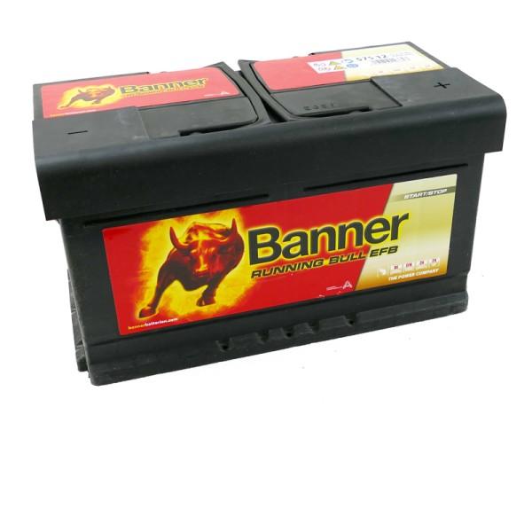 Banner 575 12 Running Bull EFB Autobatterie 75Ah