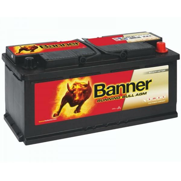Banner 60501 Running Bull AGM 105Ah Autobatterie 605 901 095