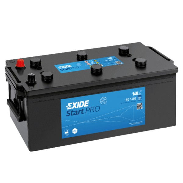 Exide EG1403 StartPRO 140Ah LKW-Batterie