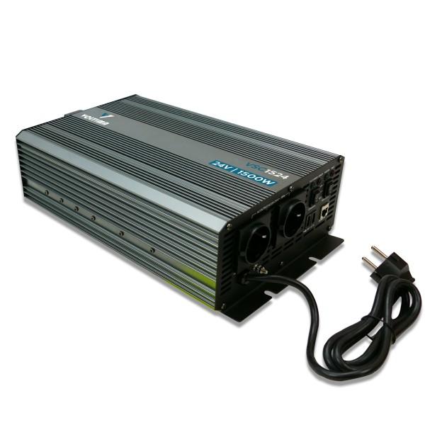VOLTIMA VSC1524 Sinus Charger-Inverter 1500W/24V Sinus-Wechselrichter mit Ladegerät und NVS