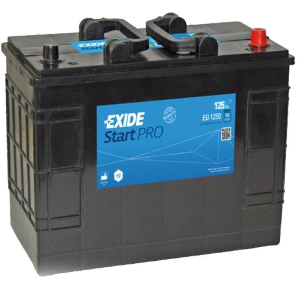 Exide EG1250 StartPRO 125Ah LKW-Batterie