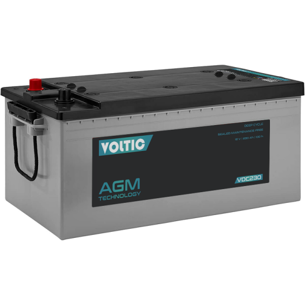 VOLTIC VDC230 Deep Cycle AGM 230Ah Batterie