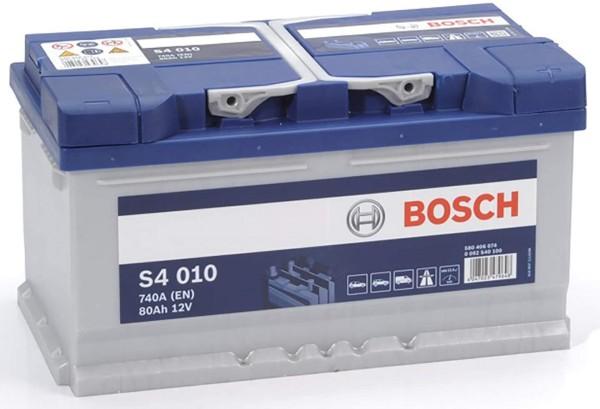 Bosch S4 010 80Ah Autobatterie 580 406 074