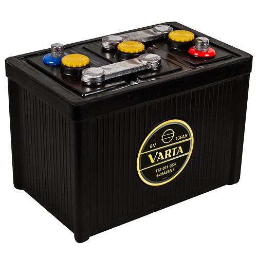 VARTA 112 011 054 Classic 6V Oldtimer-Batterie 135Ah