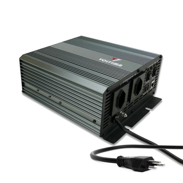 VOLTIMA VSC612 Sinus Charger-Inverter 600W/12V Sinus-Wechselrichter mit Ladegerät und NVS