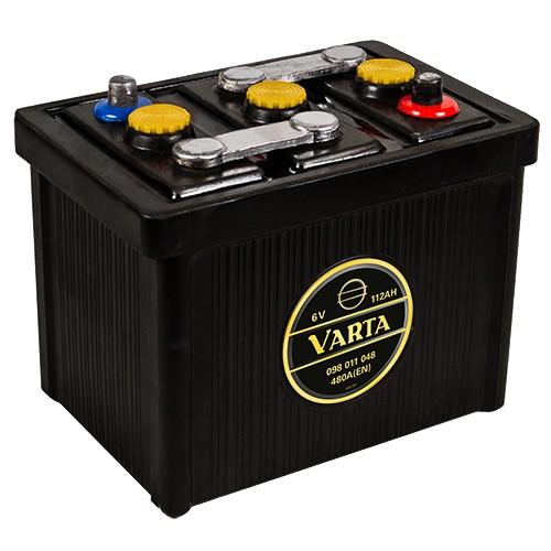 VARTA 098 011 048 Classic 6V Oldtimer-Batterie 112Ah