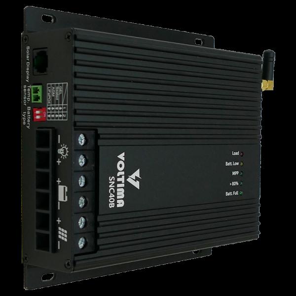 VOLTIMA SCN40B MPPT Solar-Laderegler 12V/24V 480Wp/960Wp 50V 40A Bluetooth