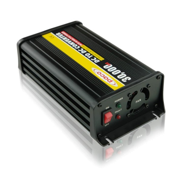 Paco PV2412-30 24V auf 12V 30A Spannungswandler