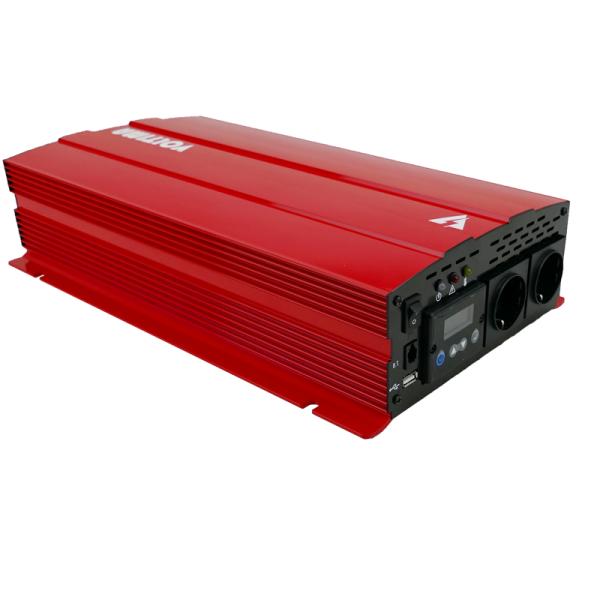 VOLTIMA VST202 Sinus-Inverter 2000W/12V Sinus-Wechselrichter mit NVS und USV