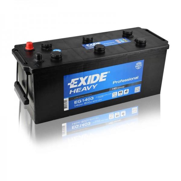 Exide EG1403 Heavy Professional 140Ah LKW Batterie