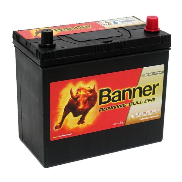 Banner 555 15 Running Bull EFB Autobatterie 55Ah