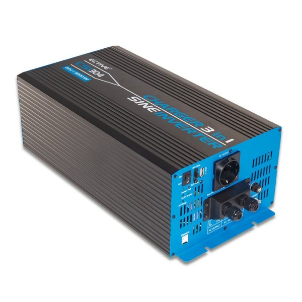 ECTIVE CSI304 Sinus Charger-Inverter 3000W/24V Sinus-Wechselrichter mit Ladegerät und NVS