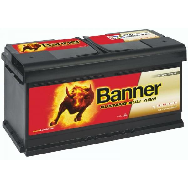 Banner 59201 Running Bull AGM 92Ah Autobatterie 595 901 085