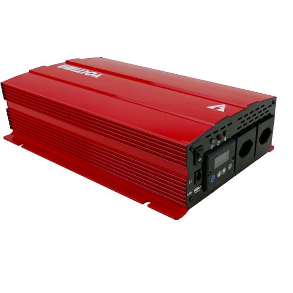 VOLTIMA VST152 Sinus-Inverter 1500W/12V Sinus-Wechselrichter mit NVS und USV (CH)