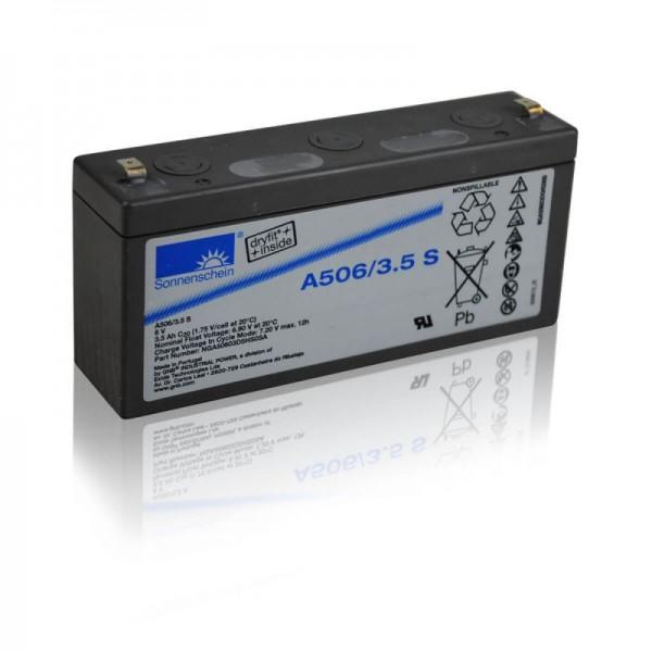 Sonnenschein-GEL-A506-3,5-S-3,5Ah-6V-Batterie