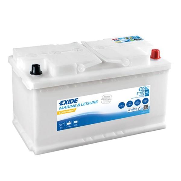Exide ET650 Equipment 100Ah Batterie