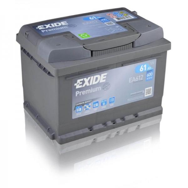 Exide-EA612-Premium-Carbon-Boost-61Ah-Autobatterie