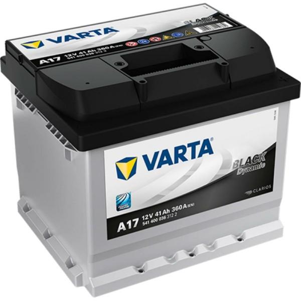 Varta A17 Black Dynamic 541 400 036 Autobatterie 41Ah